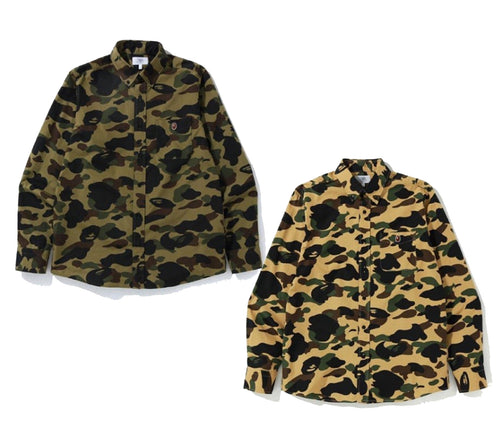 A BATHING APE 1ST CAMO BD SHIRT
