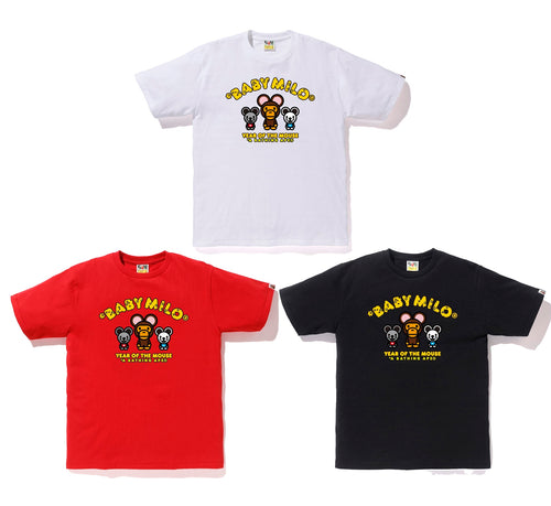 A BATHING APE YEAR OF THE MOUSE BABY MILO TEE
