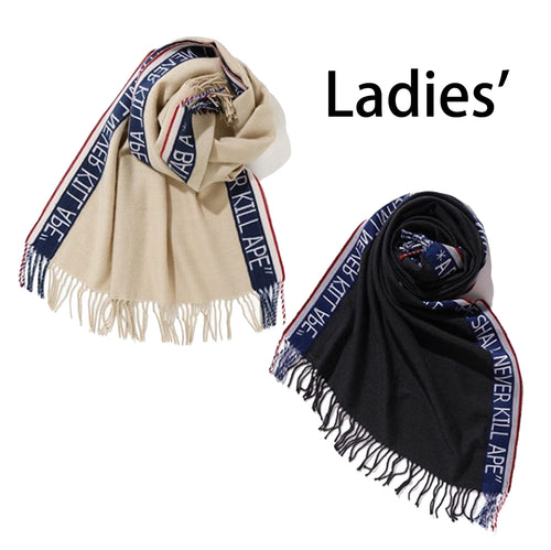 A BATHING APE LADIES' A BATHING APE BIG STOLE