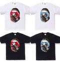 A BATHING APE TIE DYE BIG APE HEAD TEE - happyjagabee store