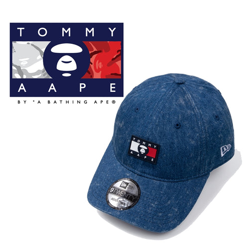 AAPE BY A BATHING APE x TOMMY JEANS NEW ERA DENIM CAP