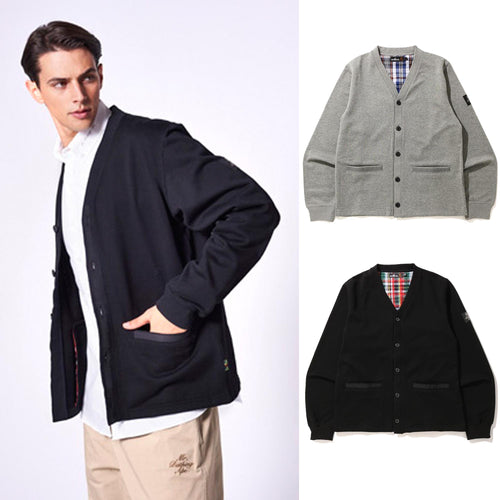 A BATHING APE MR. BATHING SWEAT CARDIGAN - happyjagabee store