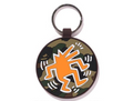 A BATHING APE x KEITH HARING KEYCHAIN KEY RING - happyjagabee store