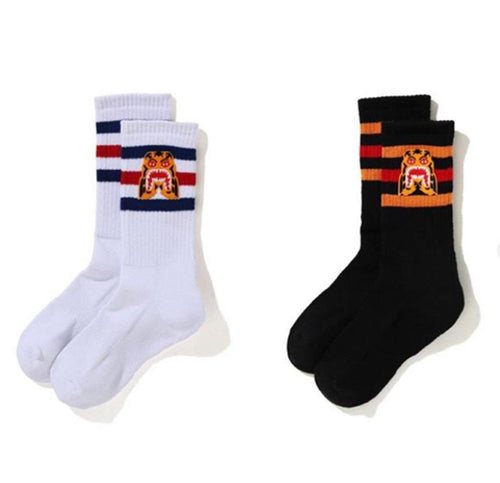 A BATHING APE TIGER SOCKS