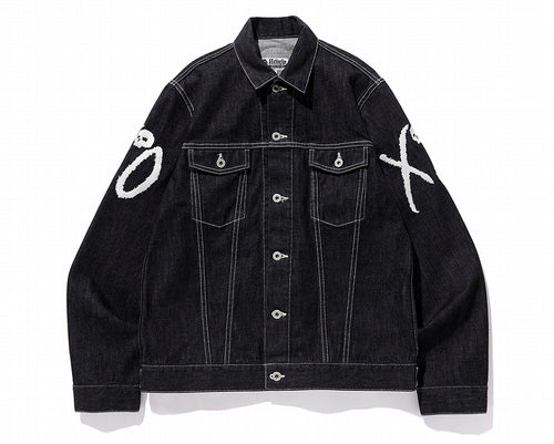 A BATHING APE BAPE XO DENIM JACKET - happyjagabee store