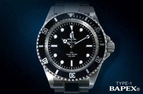 A BATHING APE TYPE 1 BAPEX NO DATE