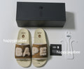 A BATHING APE BAPE × UGG SLIPPERS - happyjagabee store
