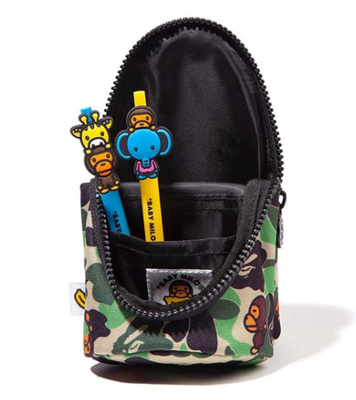 A BATHING APE BABY MILO STORE ABC MILO PENCIL CASE