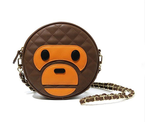 A BATHING APE Ladies' BABY MILO QUILTING SHOULDER BAG