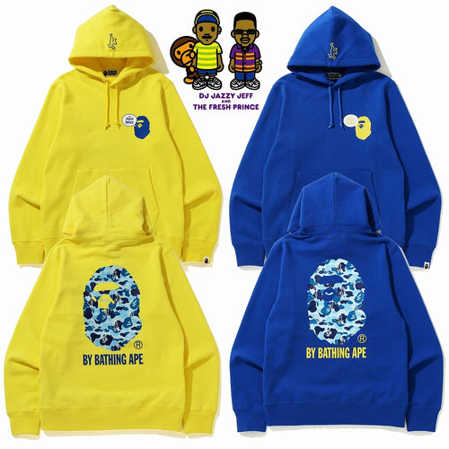 A BATHING APE x THE FRESH PRINCE PULLOVER HOODIE