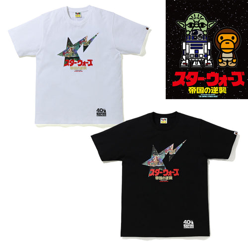 A BATHING APE STAR WARS × BAPE BAPE STA TEE