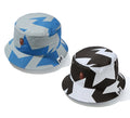 A BATHING APE STA PATTERN BUCKET HAT