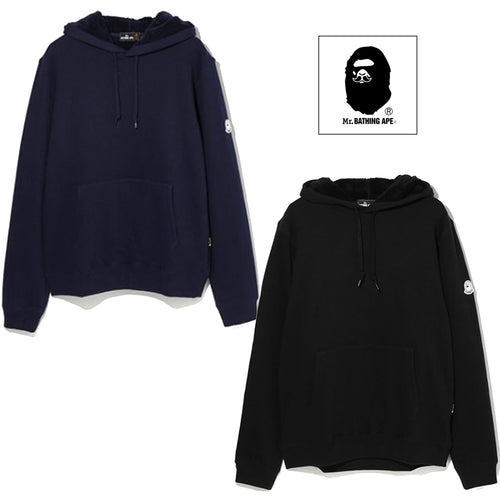 A BATHING APE MR. BATHING APE PULLOVER HOODIE - happyjagabee store