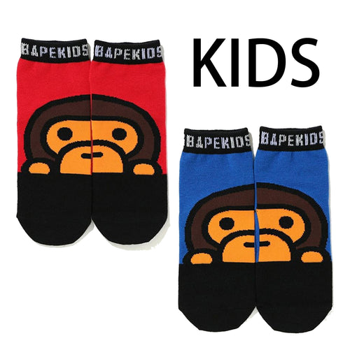A BATHING APE KIDS BABY MILO SOCKS