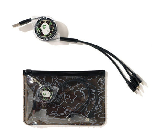 A BATHING APE MULTI USB CABLE