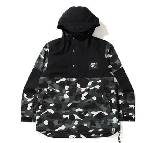 A BATHING APE CITY CAMO ANORAK