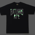 A BATHING APE CITY CAMO NYC LOGO TEE