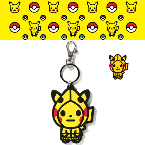 A BATHING APE Pokemon COLLECTION POKEMON KEY CHAIN M POKEMON