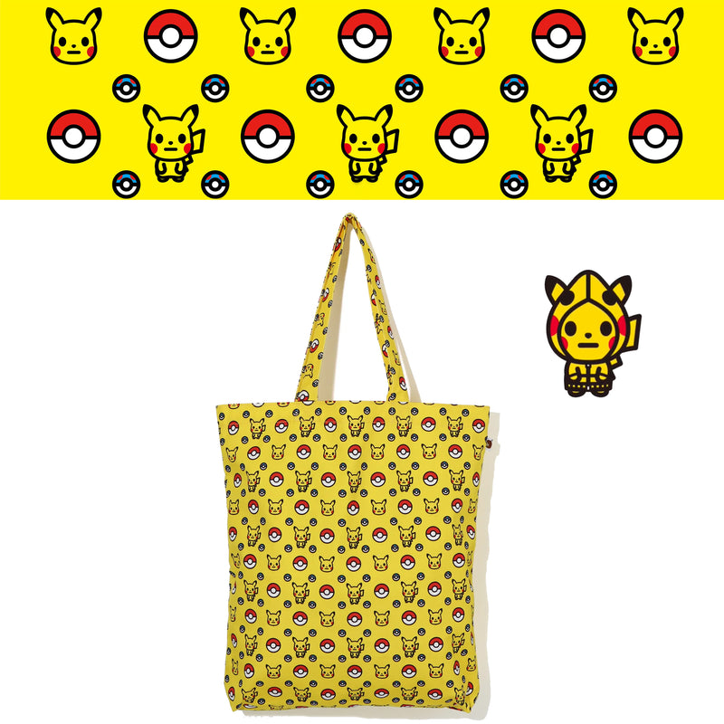 A BATHING APE Pokemon COLLECTION POKEMON TOTE BAG M POKEMON