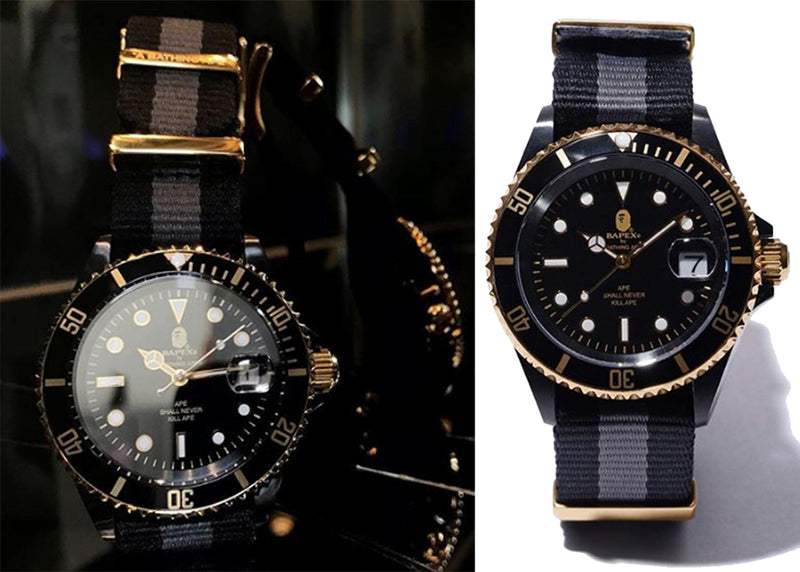 A BATHING APE TYPE 1 BAPEX NATO BAND - happyjagabee store