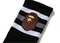A BATHING APE APE HEAD SOCKS