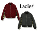 A BATHING APE Ladies' WOOL BOMBER JACKET