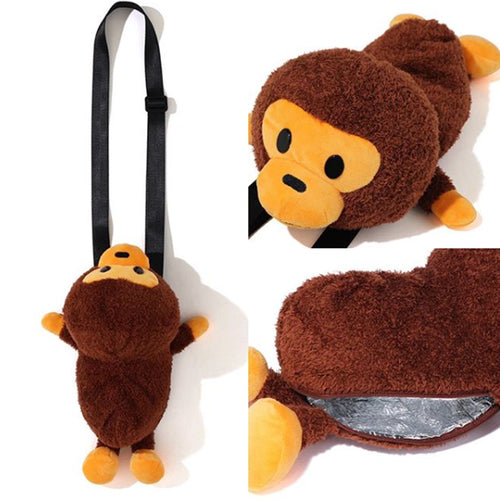A BATHING APE KIDS BABY MILO PLUSH DOLL BOTTLE COVER