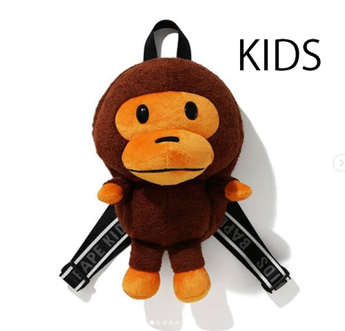 A BATHING APE BAPE KIDS BOA BABY MILO PLUSH DOLL DAYPACK