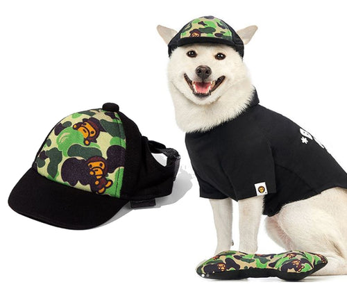 A BATHING APE BABY MILO STORE ABC MILO PET CAP