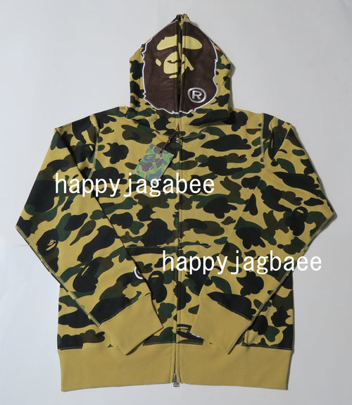 Sale! A BATHING APE 1ST CAMO APE FULL ZIP HOODIE - happyjagabee store