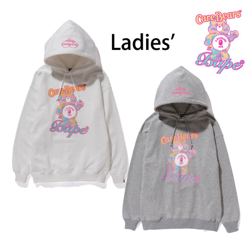 A BATHING APE LADIES' BAPE × CARE BEARS OVERSIZED PULLOVER