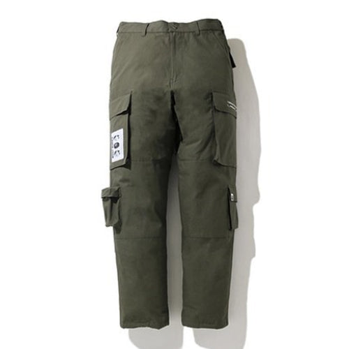A BATHING APE MULTI POCKET LOOSE FIT CARGO PANTS