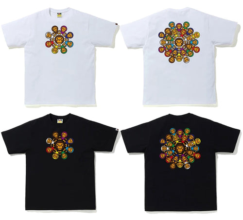 A BATHING APE MILO CIRCLE TEE