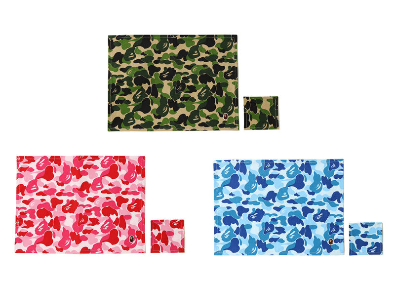 A BATHING APE ABC PLACE MAT & COASTER - happyjagabee store
