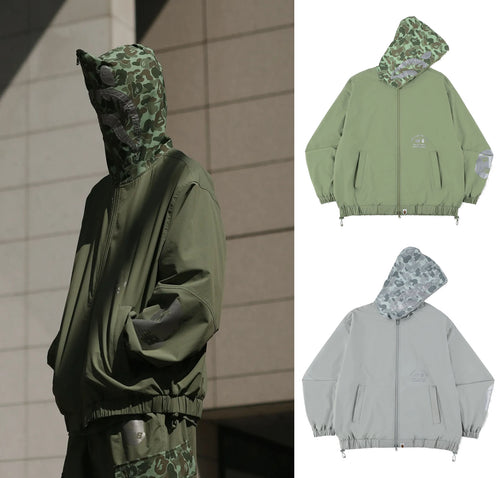 A BATHING APE BAPE X NEW BALANCE SHARK HOODIE JACKET