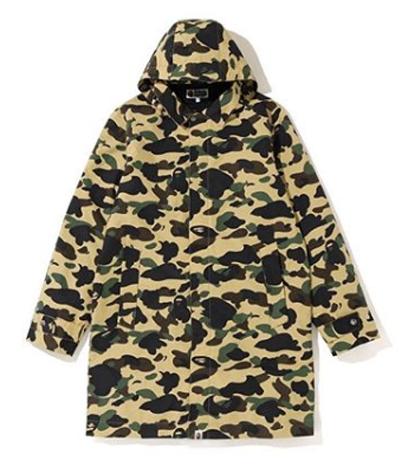 A BATHING APE 1ST CAMO HOODIE COAT - happyjagabee store