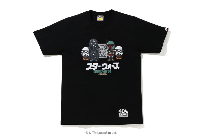 A BATHING APE STAR WARS × BAPE BABY MILO CARBONITE TEE