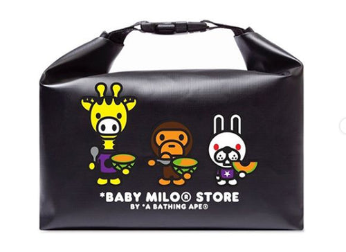 A BATHING APE BABY MILO STORE LUNCH BOX BAG