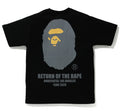 A BATHING APE BAPE × UNDEFEATED BAPE x UNDFTD APE HEAD TEE