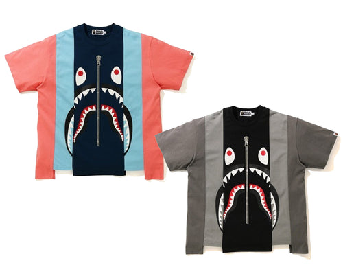 A BATHING APE SHARK RELAXED TEE