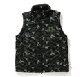 A BATHING APE DIGITAL CAMO DETACHABLE PADDED JACKET