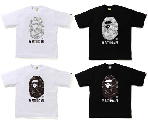 A BATHING APE DIGITAL CAMO BY BATHING APE RELAX TEE