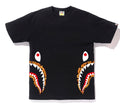A BATHING APE BAPE FLAME SIDE SHARK TEE - happyjagabee store