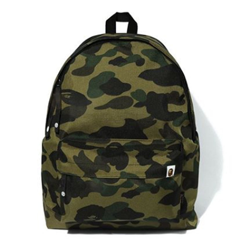 A BATHING APE 1ST CAMO CORDURA DAY PACK - happyjagabee store