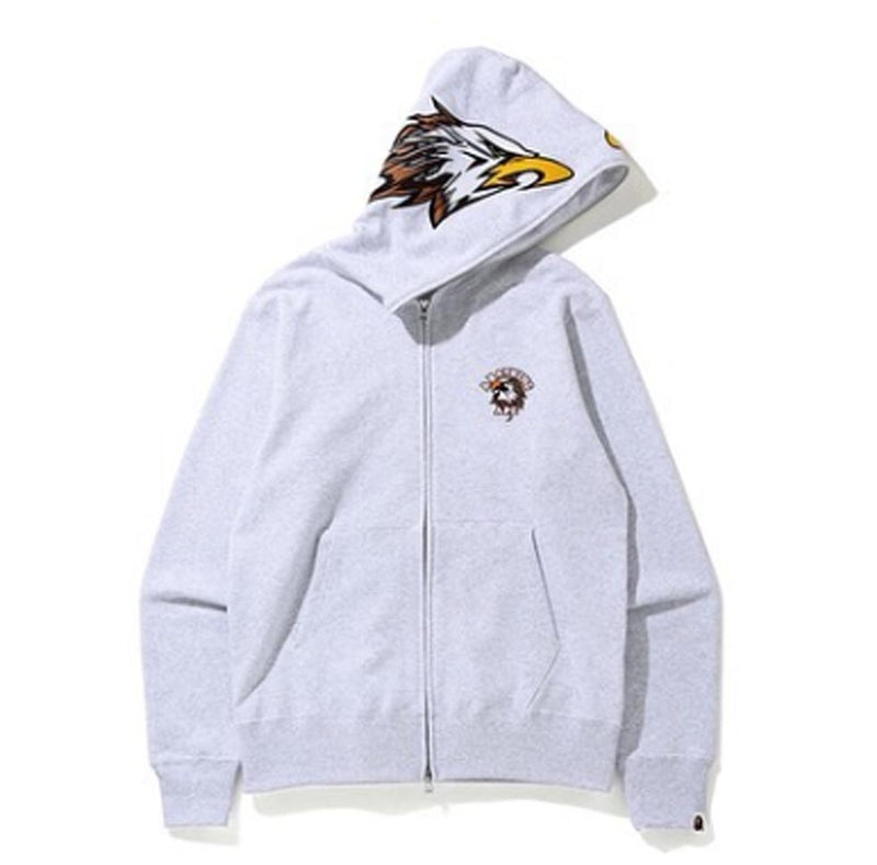 A BATHING APE EAGLE FULL ZIP HOODIE - happyjagabee store