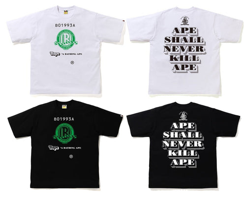 A BATHING APE (B)CLASSIC RELAXED TEE