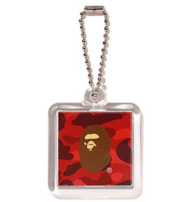 A BATHING APE COLOR CAMO KEYCHAIN - happyjagabee store
