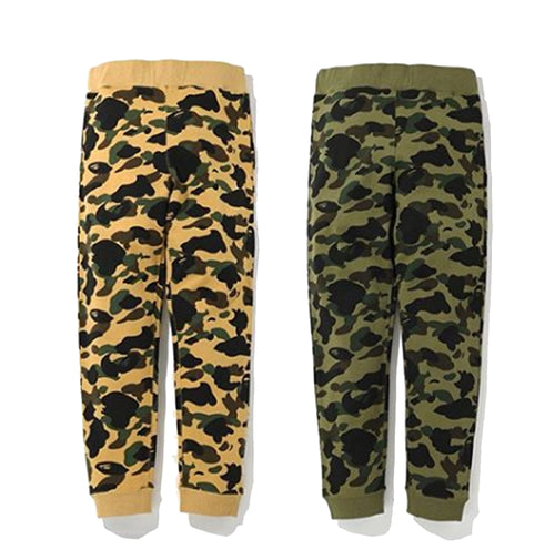 A BATHING APE 1ST CAMO SLIM SWEAT PANTS