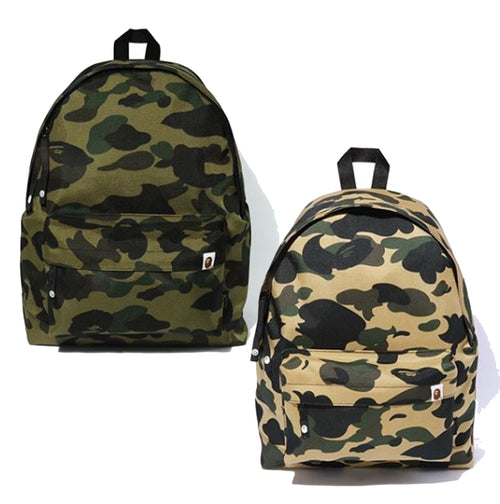 A BATHING APE 1ST CAMO CORDURA DAY PACK