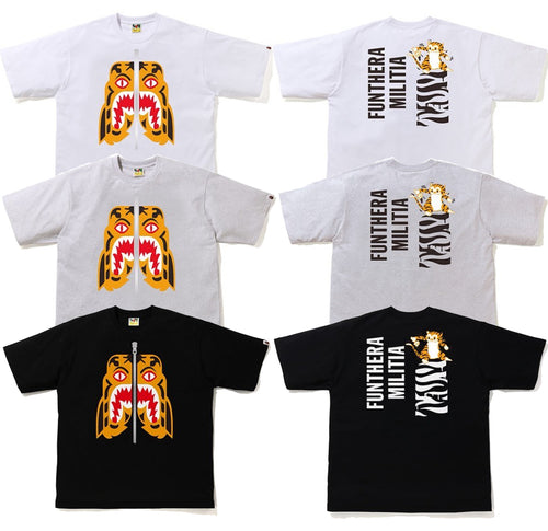 A BATHING APE TIGER RELAXED TEE